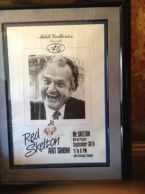 Red Skelton Painting - Signed 80th Birthday Original Artwork by Red Skelton