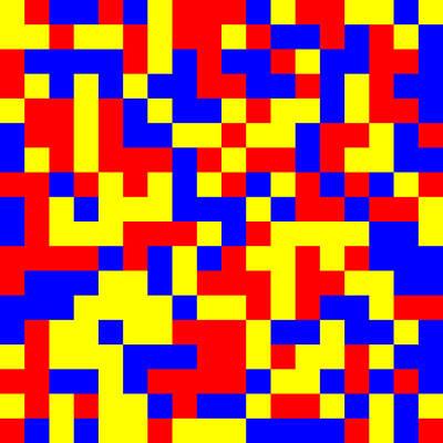 Primary Digital Art - 81.2.11 by Gareth Lewis