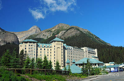Photograph - 816p Chateau Lake Louise Canada by NightVisions
