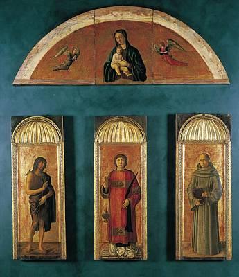 New Martyr Photograph - Italy, Veneto, Venice, Accademia Art by Everett