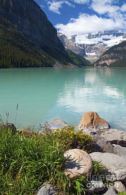 Photograph - 839p Lake Louise Canada by NightVisions