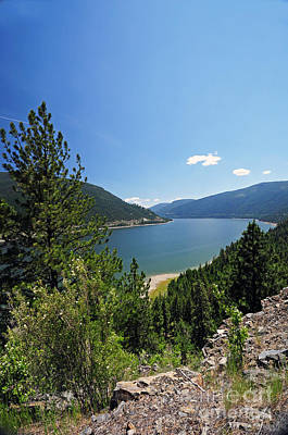 Photograph - 842p Lake Koocanusa Montana by NightVisions