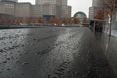 8488 911 Memorial View Art Print by Deidre Elzer-Lento
