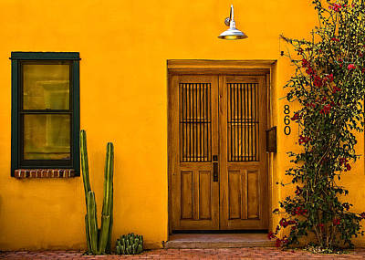 Photograph - Casa Amarilla by Maria Coulson
