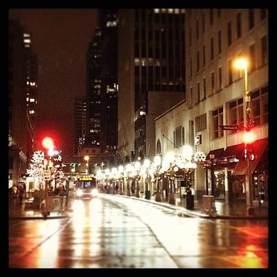 Downtown Wall Art - Photograph - Nicollet Mall In Winter by Heidi Hermes
