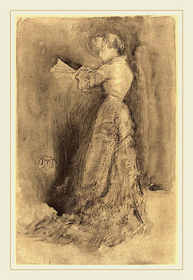 Whistler Painting - James Mcneill Whistler American, 1834-1903 by Litz Collection