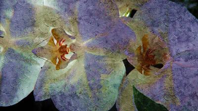 Lavender Orchids Art Print