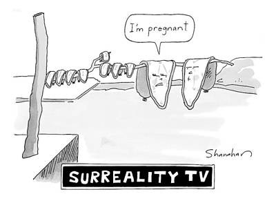 Reality Drawing - New Yorker September 7th, 2009 by Danny Shanahan