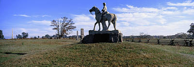 Gettysburg Photograph - 8th Pennsylvania Cavalry Monument by Panoramic Images