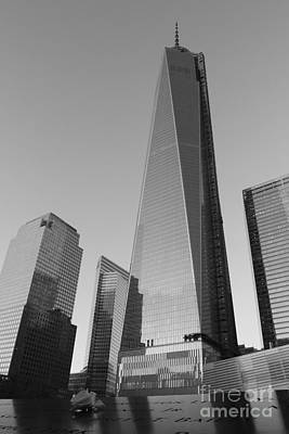 9/11 Memorial Art Print by Shiela  Mahaney