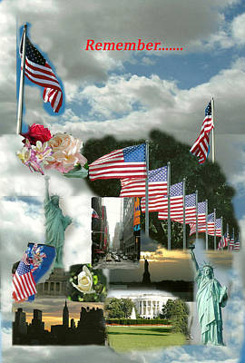 9-11 Remembrance Art Print