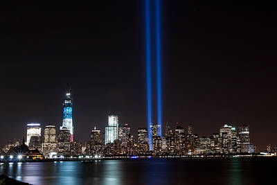 9/11 Tribute Original by Michael Lofenfeld