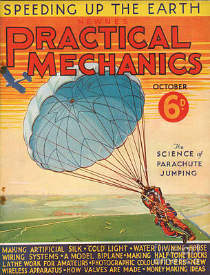 1930s Uk Practical Mechanics Magazine Art Print by The Advertising Archives