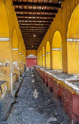 Featured Tapestry Designs - Antigua Guatemala Series by Horacio Maldonado