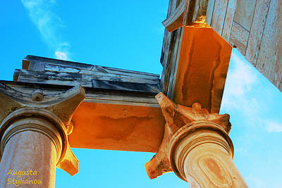 Photograph - Apollo Sanctuary - Cyprus by Augusta Stylianou