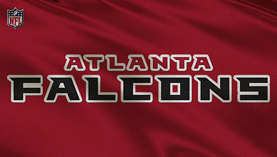 Atlanta Photograph - Atlanta Falcons Uniform by Joe Hamilton