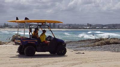 Australia - Quad Bike On The Beach Original by Jeffrey Shaw