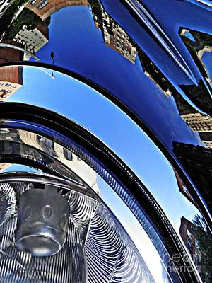 Photograph - Auto Headlight 24 by Sarah Loft