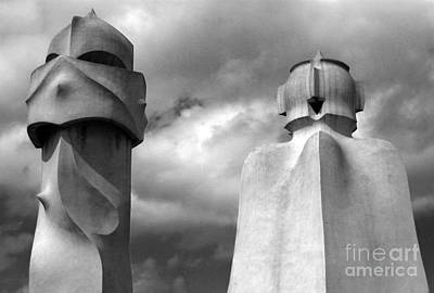 Photograph - Barcelona Spain La Pedrera by Gregory Dyer