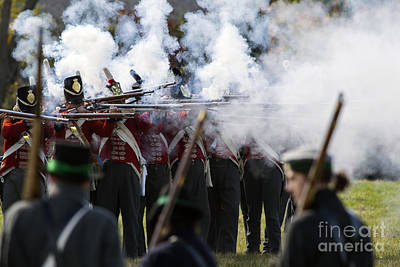Bluecoat Photograph - Battle Of Cook's Mills by JT Lewis