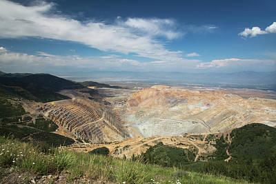 Bingham Canyon Copper Mine Art Print