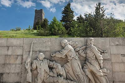 War Relief Photograph - Bulgaria, Central Mountains, Shipka by Walter Bibikow