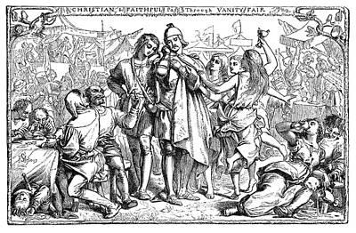Pilgrims Drawing - Bunyan Pilgrim's Progress by Granger