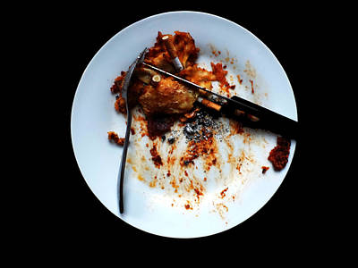 Artwork Photograph - Cancer In Food Or Cest Des Conneries by Sir Josef - Social Critic -  Maha Art