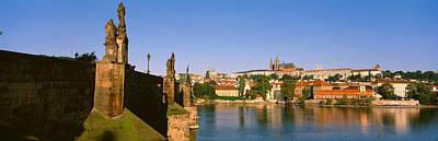 Sculptural Photograph - Charles Bridge, Prague, Czech Republic by Panoramic Images