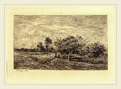 Charles-françois Daubigny French, 1817-1878 Print by Litz Collection