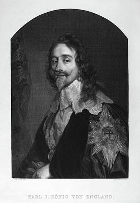 Painting - Charles I (1600-1649) by Granger