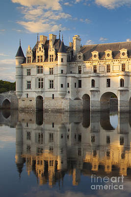 Chateau Photograph - Chateau Chenonceau by Brian Jannsen