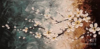 Cherry Blossoms Art Print by Tomoko Koyama