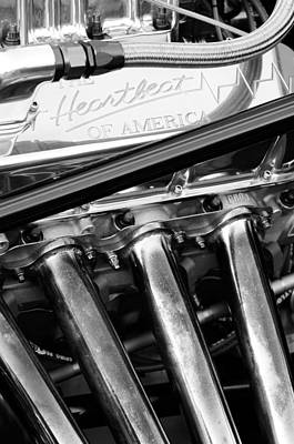 Chevrolet Engine Art Print