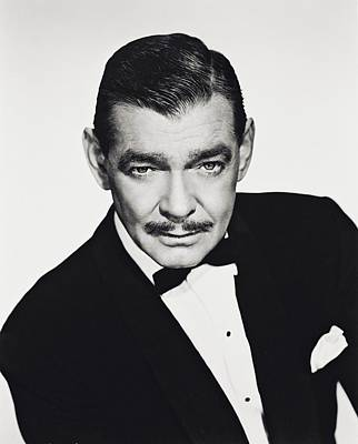 Clark Gable Art Print