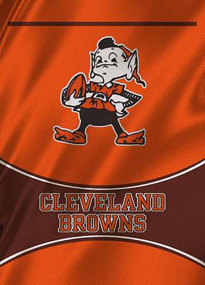 Uniforms Photograph - Cleveland Browns Uniform by Joe Hamilton