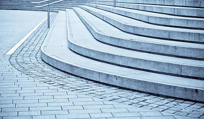 Concrete Steps Art Print