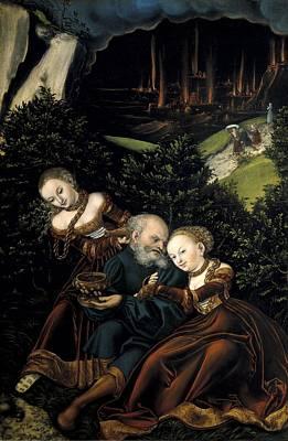 Cranach, Lucas, The Elder 1472-1553 Art Print