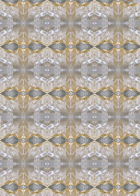 Healing Painting - Crystal Stone Art Graphics And Background Patterns On Faa Products Or Download For Self-printing   by Navin Joshi