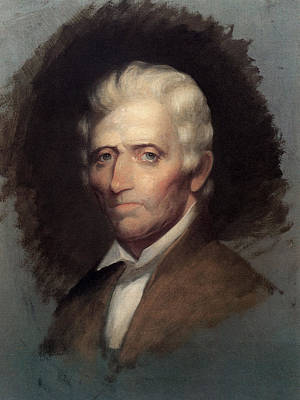 Boone Painting - Daniel Boone (1734-1820) by Granger