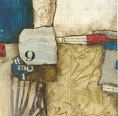 Gray Mixed Media - 9 Days Before It Began by Laura  Lein-Svencner