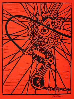 Derailluer Art Print by William Cauthern