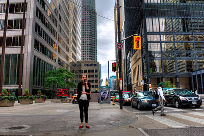 Photograph - Downtown Toronto by Joseph Amaral