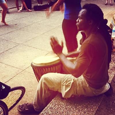 Photograph - Drum Circle  by Fareeha Khawaja