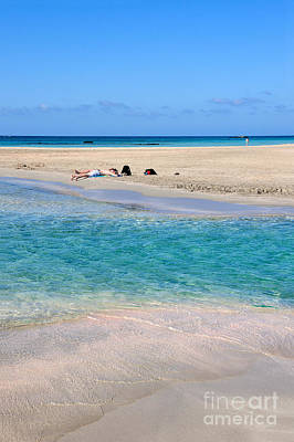 Photograph - Elafonisi Beach by George Atsametakis