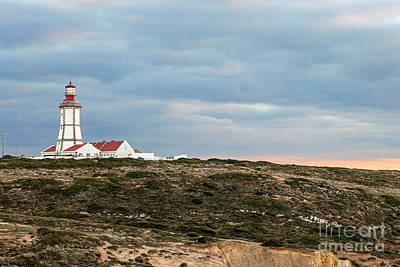 Lighthouse Photograph - Espichel Cape Lighthouse by Jose Elias - Sofia Pereira