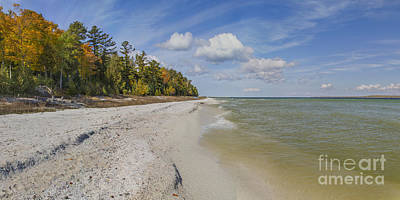 Fall In Door County Art Print by Twenty Two North Photography