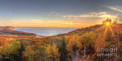 Fall Photograph - Fall In Sleeping Bear Dunes by Twenty Two North Photography
