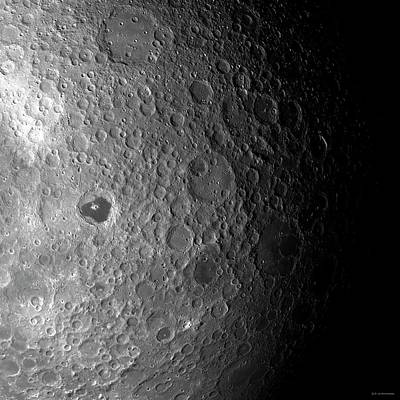 Dark Side Photograph - Far Side Of The Moon by Detlev Van Ravenswaay