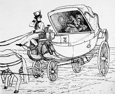 Horse Lovers Drawing - Felix Mendelssohn (1809-1847) by Granger